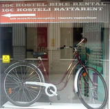 16 eur hostel bike rental